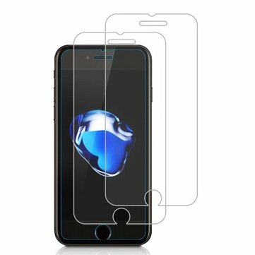 2 Pack Bakeey 0.26mm 9H Scratch Resistant Tempered Glass Screen Protector For iPhone 7 Plus/8 Plus