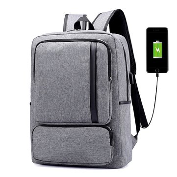 Oxford Casual Business USB Charging 16 Inches Laptop Bag Backpack For Men