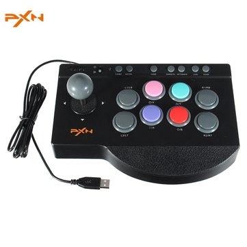 Litestar PXN-00082 จอยสติ๊กเกม USB Fighting Arcade Stick Rocker