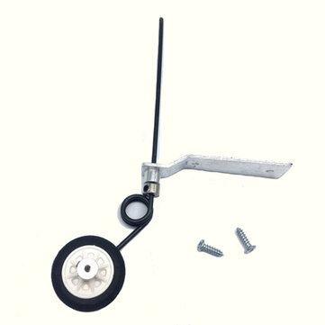 Aluminum Tail Wheel Landing Gear With 25mm Wheel For 40 Class / 60 Class RC Airplane