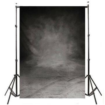 5x10FT Grand Retro Toile Gris Toile Photographie Studio Props Photo Fond