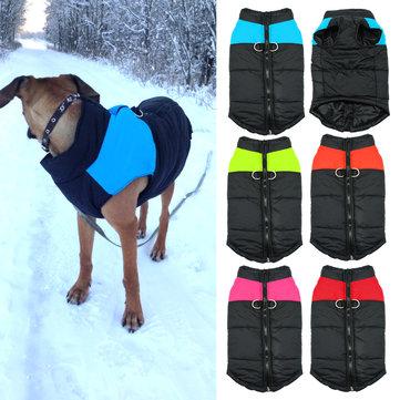 สัตว์เลี้ยงสุนัขเสื้อกันหนาวฤดูหนาวเสื้อแจ๊คเก็ตเสื้อลูกสุนัขอุ่นนุ่มเสื้อผ้าขนาดเล