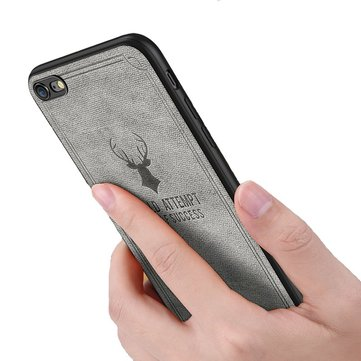 Bakeey Vintage Anti Fingerprint Canvas+PC Protective Case For iPhone 6/6s