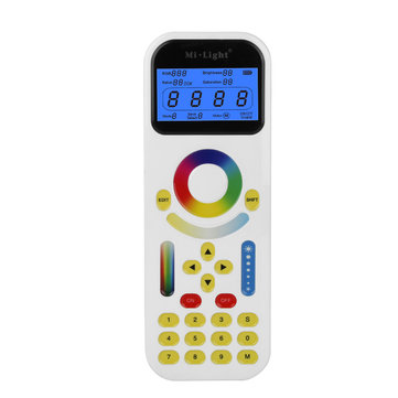 2.4GHz Mi Light LED Remote Control with LCD Screen Max 99 Zones for Track Strip Lighting