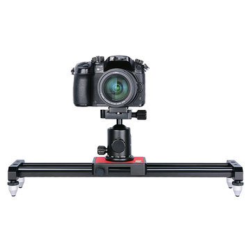 Ulanzi SL-40 40cm 15 Inch Mini Aluminum Camera Video Track Dolly Slider Rail Stabilizer