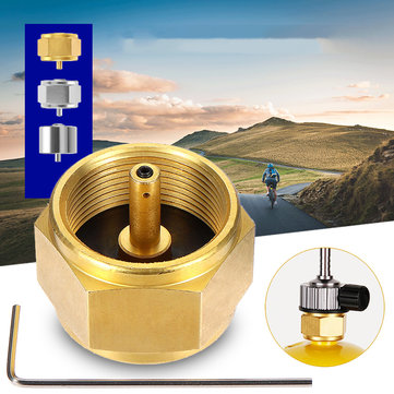 Camping Stove Converter Gas Tank Adapter Outdoor Burner Tank Connector Picnic BBQ Equipment