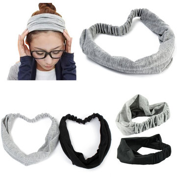 1Pc Headband Hair Bandanas Styling Accessory Full Wide Ribbon Scarf