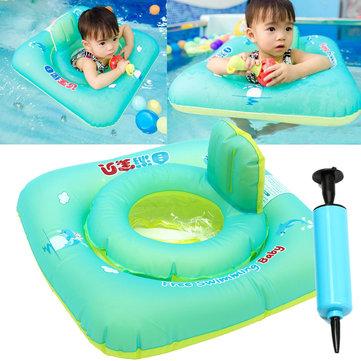 Bebé Inflable Natación Piscina Flotadores Swim Ride Rings Safety Chair Balsa Playa Juguete