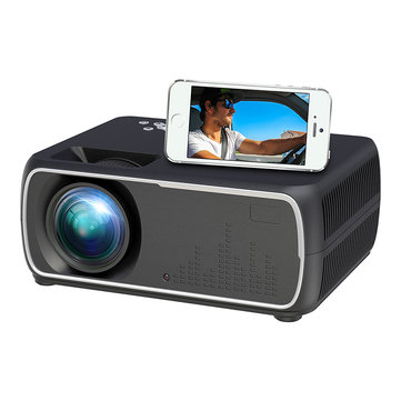 A20B+ LCD Mini Projector 2200 Lumens 800*480P Resolution 2000:1 Contrast Ratio Projector Same Screen Version