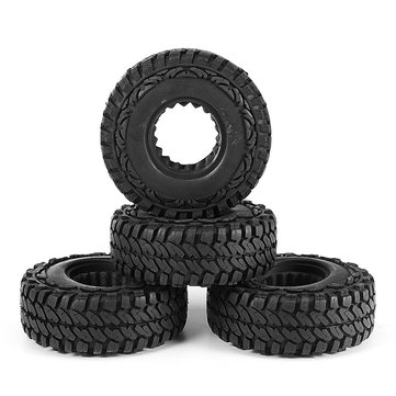 4Pcs RC Car 114mm Tires for 1/10 RC Crawler 4WD SCX10 CC01 1.9 Inch Wheels RC Car Parts