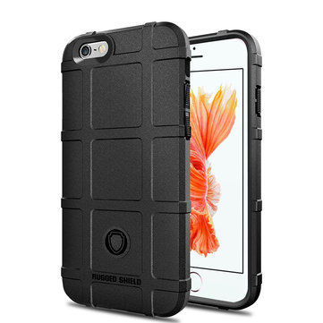 Bakeey Rugged Shield Soft Silicone Protective Case for iPhone 6 Plus/6s Plus
