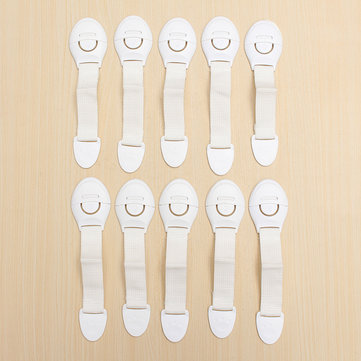 10Pcs Baby Cute Safety Lock Cabinet Drawer Fridge Furniture Safe Door Lock For Child Infant Kids
