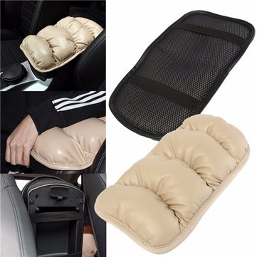 36cmx21cm Car Arm Rest Topping Mat Liner Pad Console Storage Box Cover Cushion