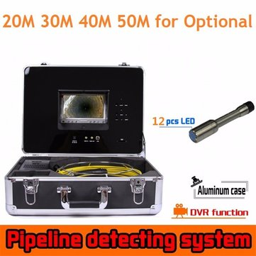 CR110-7D2 7inch Monitor 800TVL Pipe Endoscope Inspection Camera Sewer Bore Hole Camera with DVR Set