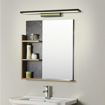 Modern Waterproof Aluminum LED Mirror Wall Light For Bathroom