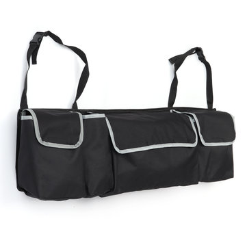 Outdoor Travel Car Seat Back Storage Bag Hanging Pack Pouch Rear Trunk Organizer