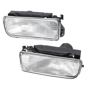 2PCS Car Front Bumper Clear Lens Fog Lights for BMW E36 3-series 318i 323i 325i 1992-1998