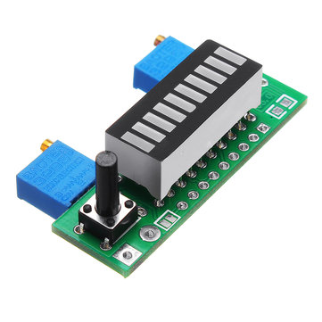 5pcs Green LM3914 Battery Capacity Indicator Module LED Power Level Tester Display Board
