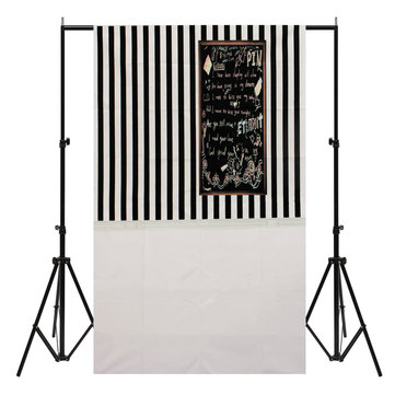 3x5FT Vinyl Black White Graffiti Fond d'écran arrière-plan Photo Studio Prop