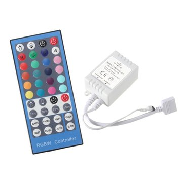 40 Keys RGBW Controller IR Remote DC12-24V For LED Strip RGB White Light