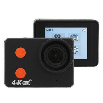 "XANES A2 4K WiFi Sports камера UHD24 2 ""Сенсорный экран Водонепроницаемы DV Video Mini Recorder 160 ° Широкий угол"