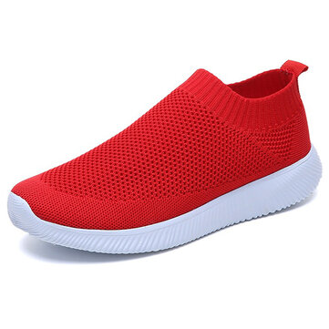 Large Size Women Outdoor Walking Casual Comfy Sneakers