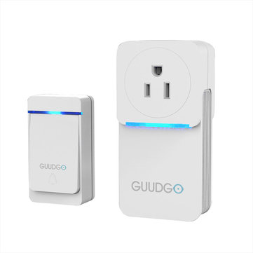 GUUDGO GD MD02 Waterproof Socket Music Doorbell 52 Melody Chime 5 Levels Of  Adjustable Volume