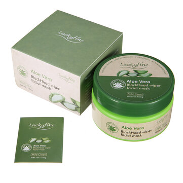 LuckyFine Aloe Vera Peel Off Facial Mask