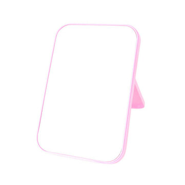 Folding Makeup Mirrors Desktop Cosmetic Tools Dressing Mirror Home Beauty Folded Square