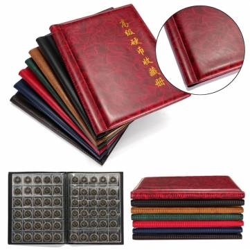 250 Coins Pockets Collecting World Coin Collection Storage Holder Money Album Book