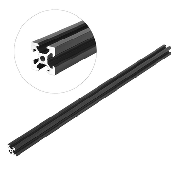 Machifit 500mm Black 2020 V-Slot Aluminum Profile Extrusion Frame For CNC