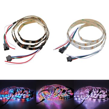1M 5M WS2813 Waterproof Dream Color Changing 4 Pins LED Strip Light for Outdoor DV5V