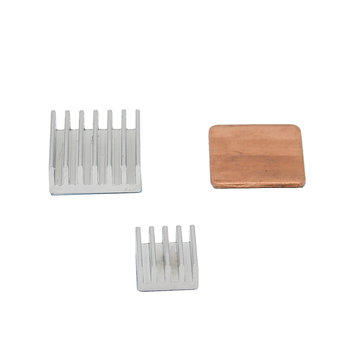 Buy 10SET Aluminum Heat Sink Copper Heat Sink For Raspberry Pi 3 Model B / Pi 2 / B+ for $16.99 in Banggood store