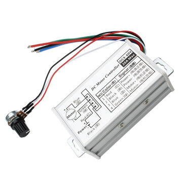 3Pcs PWM DC 9V 12V 24V 48V 60V 20A Stepless Variable Speed Pulse Width Motor Speed Regulation Switch Speed Controller