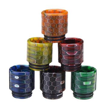 Epoxy Resin Drip Tip 810 E-Cigarettes Wide Bore for TFV12 Prince X-BABY TFV8 BIG BABY Tank