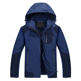 Mens Outdooors Waterproof Breathable เสื้อแจ๊คเก็ตแห้งเร็ว Casual Spring Elasticity Coat