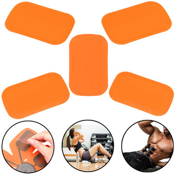 5Pcs Replacement Gel Sheet Pad for Muscle Training Gear ABS Body Fit Fitness