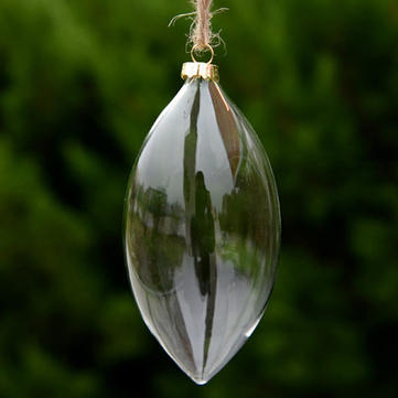 Hanging Transparency Glass Ball Creative Hanging Bottle Garden Christmas Decoration