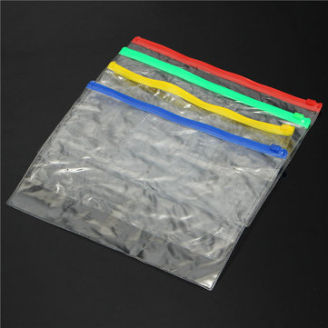 320x238mm PVC Transparent File Holder Packing Bags