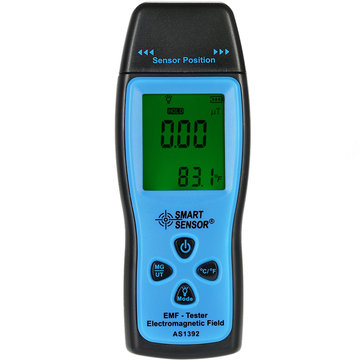 SMART SENSOR AS1392 Handheld Digital LCD Mini Radiation Dosimeter EMF Tester Electromagnetic Field Radiation Detector