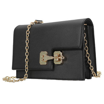 Accordion Multi-layer PU Leather Chain Belt Messenger Phone Bag for Phone Under 6.0 inches