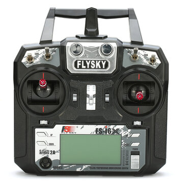 Flysky FS-i6X i6X 10CH 2.4GHz AFHDS 2A RC Transmitter With FS-iA10B Receiver for FPV RC Drone