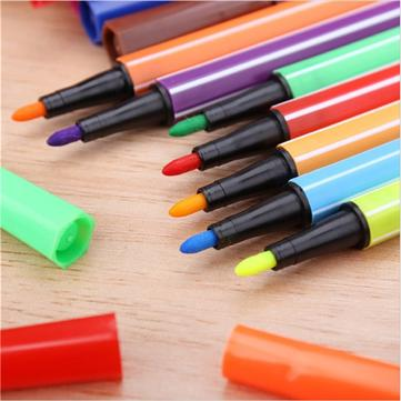 12 Colors Washable Watercolor Pens Marker Painting Drawing Art Supplies