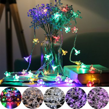 10M 100LED Blossom Flower Fairy String Light Waterproof Wedding Party Christmas Holiday Decor AC220V