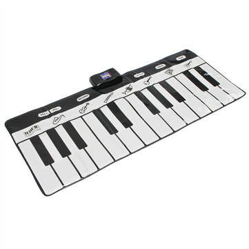 24 Keys Piano Music Keyboard Mat Playmat Dance Musical Toys