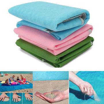 IPRee™ 120x150CM Sand-Free Pocket Mat Portable Travel Picnic Beach Seaside Pad Large Mattress