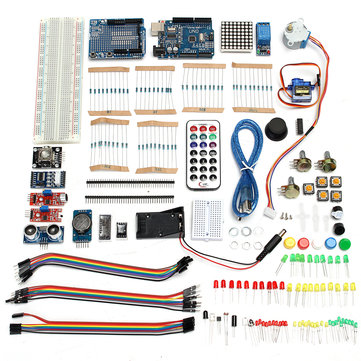 Ultimate UNO R3 Starter With Stepper Servo Motor Relay RTC Kit For Arduino