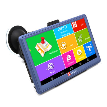 JUNSUN D300 MT8127L Quad-Core 1.35GHz 7 Inch Touch Screen GPS DVR Bluetooth FM USB Car DVD