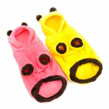 HOOPET Coral Fleece Pet Dog Cat Coat Jumpsuit Warm Comfortable Pet Cloth