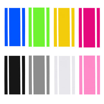 Stripe Vinyl Pinstripe Racing Car Truck Hood Roof Decals Stickers Decor 50x116cm